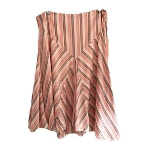 American Eagle Outfitters Skirt Lined Pink Size 6